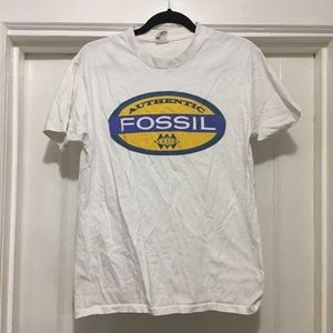 Vintage Single Stitch Fossil T-Shirt Size Medium